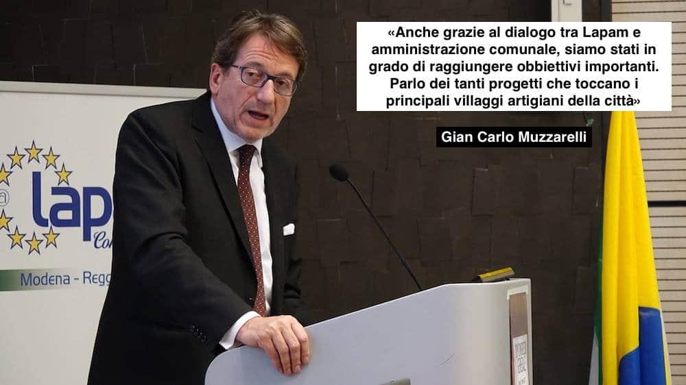 Gian Carlo Muzzarelli Lapam