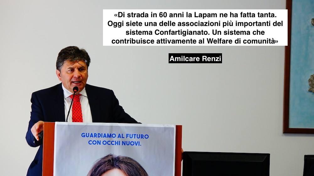 Amilcare Renzi Congresso Lapam Confartigianato