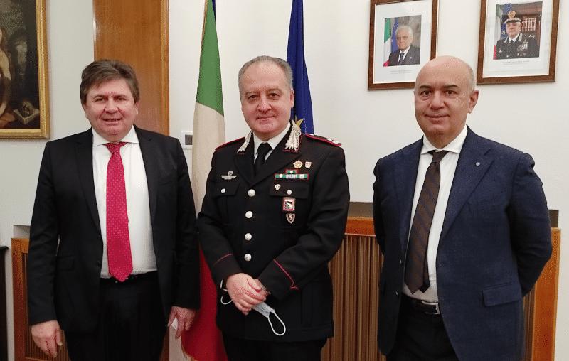 incontro confartigianato carabinieri emilia romagna sicurezza imprese collaborazione