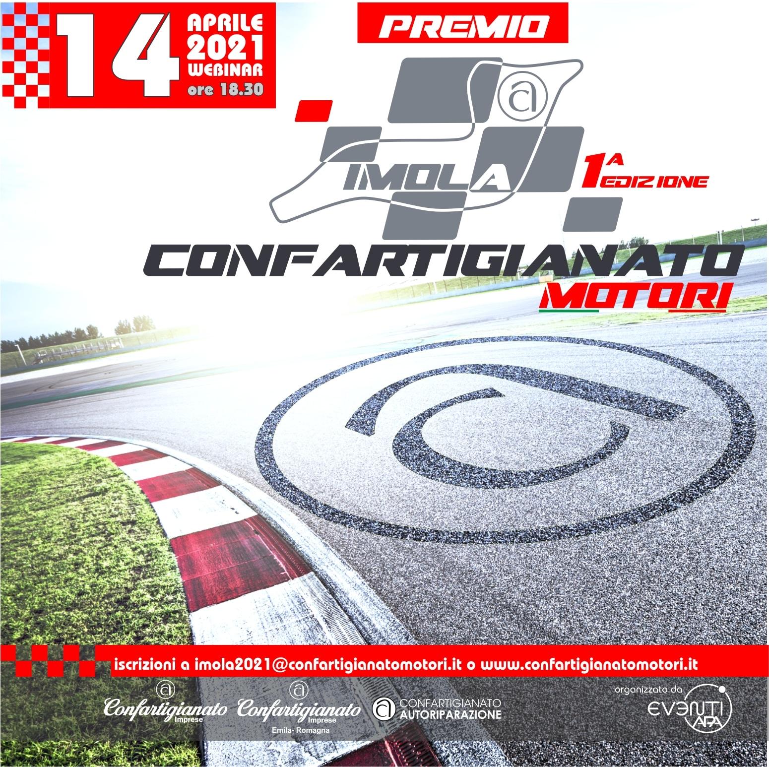Gran Premio Imola 2021 Formula 1 Confartigianato Autoriparazione