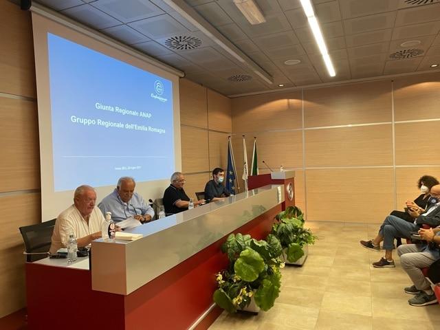 giunta regionale ANAP Confartigianato Emilia-Romagna imola 20 luglio 2021