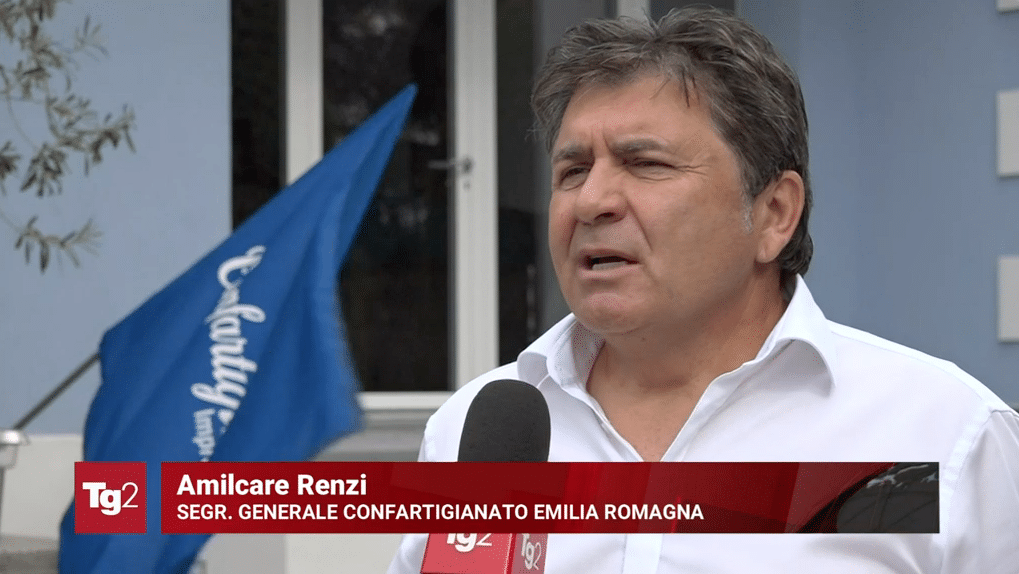 Amilcare Renzi servizio tg2 lavoro formazione professionale 20 agosto 2021