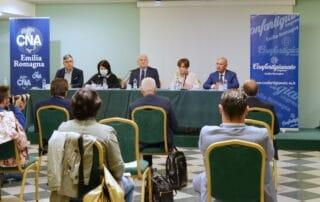 img FED20004 conferenza stampa congiunta Conf Cna Emilia Romagna transizione digitale 27 settembre 2021 confartigianato emilia romagna cna emilia romagna servadei costantini colla